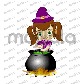 Witcheya is a little witch who comes with magic. She is cute, funny and naughty.