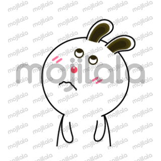 Let's download sweet rabbit animated stickers. It will make your chat more lively.