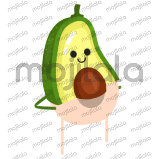 A cute, dancing fruits to cheer up your everyday life in a energetic and funny way! :)