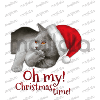 Every Christmas is better with these cute cats as your companions! :) Have fun with them!