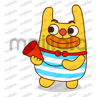 This character is known to be an adorable and loving creature,  also, lary has various expressions that will surely set your messaging conversation into a humorous and sensible one.