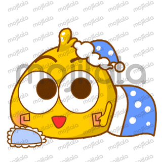 a yellow fat chick, a very good set of animated gif stickers that will surely amaze you.