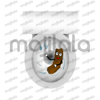 Funny take on the poop emoji.  More real and raw lol