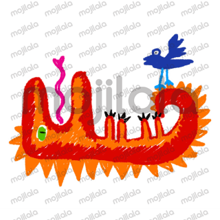Animated monster stickers that add some colour to your conversations.