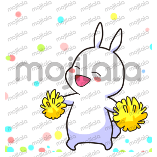 Come more lively with this lovely animated bunny!