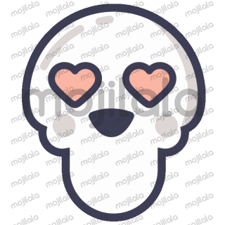 Animated Skeleton Emojis for Halloween