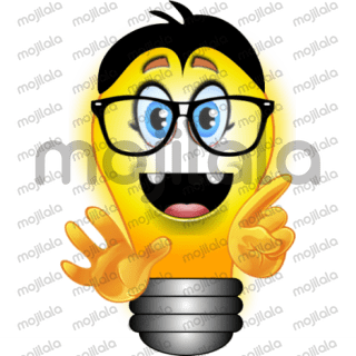 Have you ever wanted to respond to a friend's idea and just don't know how to say it? Well here is the answer. Message them a bright idea sticker. There are bright idea stickers for all kinds of responses to ideas, from positive to negative. You can even send a sticker with your own response. Drag stickers onto other stickers to create your own mixed idea response.