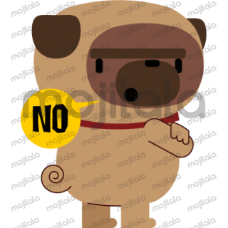 Express yourself with Janjo the pug!