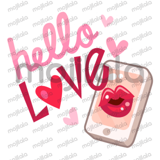 """Feeling your relationship is dysfunctional? Express yourself with this set of """"love"""", """"not so loved"""" stickers - Have fun!!"""