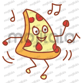Spice up your chat with Pepper- The Pizza Stickers.