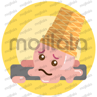 Cute stickers for daily summer chat conversations with your friends. Fresh up your messages with love, lough, drama and fun ice cream expressions!