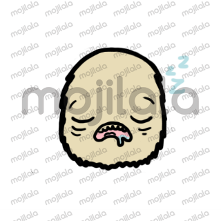 "It is a series of illustrated stickers, which express emotions, the main character in this series of stickers is the first monster he believes and I refer to him as ""furrys"""