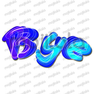 blue colored text messages which displays an emotion