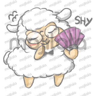 HaHa, the funny and cute nerdy llama! Best llama stickers to use.