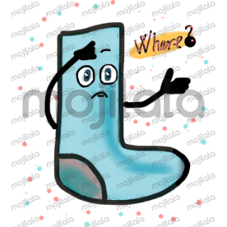 Incredible stickers with Socks! starring