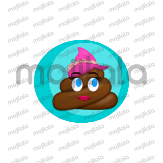 Love playing with poo? Check these emoji stickers!