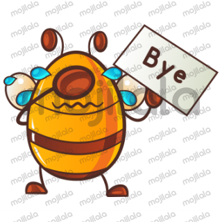 Buzz the Bee is here! Sugar coat your chat conversations with buzz the bee! Download Now!!