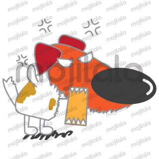 Peggy's Workshop presents new stickers Wang Wang GO. Share your happiness with your friends with Wang Wang. Go get them now!