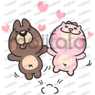 This stickers set feature exaggerate comical expression that are ideal and fit for lover activities. Use this and having fun with your relationship.