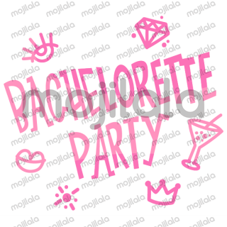 Getting ready to get all dolled up, teary declarations of love and dancing drunk? Then you will need these stickers!! Decorate your bridal shower chats, in an all-out fun way with this fun set of Bachelorette Party stickers!!!