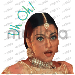 Sticker pack from Indian Bollywood movies