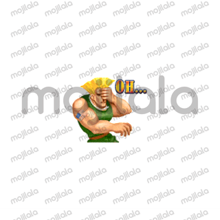 Almost all of the characters from Capcom's fighting classic are included in both winning and losing poses. The graphics are even a little better than they were in the original game.