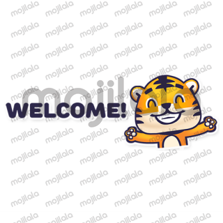 Tiger cub exclusive stickers for Rawai Park - the largest kids park in Phuket,  Thailand. Rawai tiger invites you to play at his playgrounds and exchange emotions.