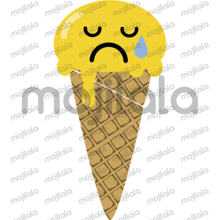 Emoji ice creams