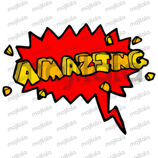 This is a comic text sticker pack.