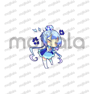 Digital fairy sisters Lapis and Merli become cutie chibi form! Releasing 40 well known illustrations as LINE Sticker and also there are new version; Motocross.