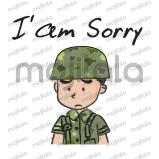 Little Cute Soldier stickers.