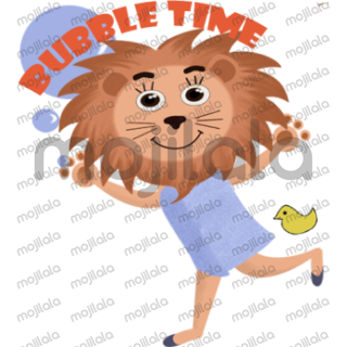 This sticker pack dedicated to the king of the jungle.