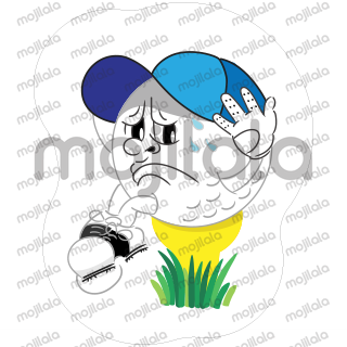 Olivera Naughty Ball is funny character of golf ball, created to describe many familiar and common situations in golf. Because golf should be FUN !