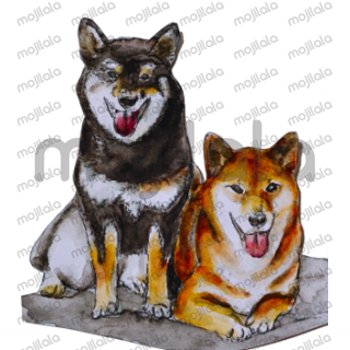 From Shiba Inu Sisters and friends, let us present you spring theme