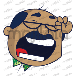 Mr. bald Man is a funny witted man. Use him in your chat conversations.