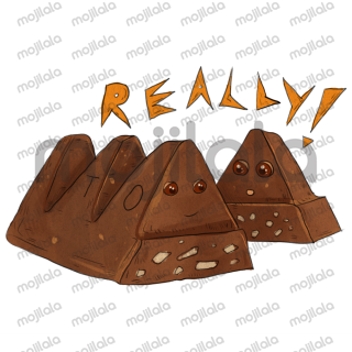 If you love chocolate, these stickers are for you.