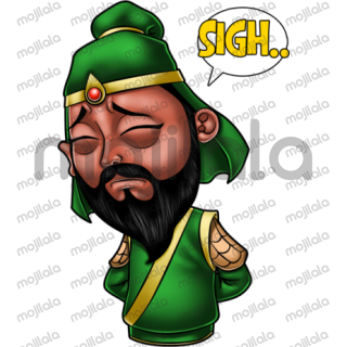 Guan Yu is one of the famous characters from China's period of Three Kingdoms.