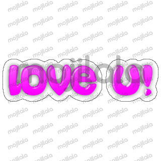 """""""Express your feelings in a very simple way!"""" This is a simple nice sticker package with everyday words."""