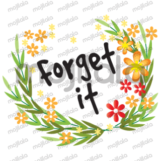 Greetings card with beautiful flowers