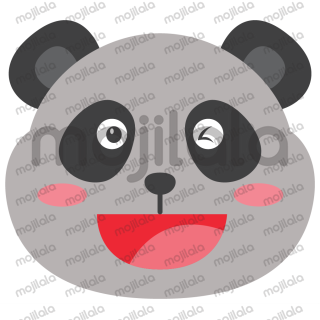Experience the cute Panda lovely expressions and share with friends thoroughly.