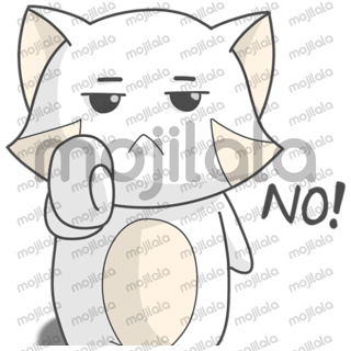 Shinoki the combination of cat, bear, and raccoon come as LINE sticker with funny, hilarious, and cute expression