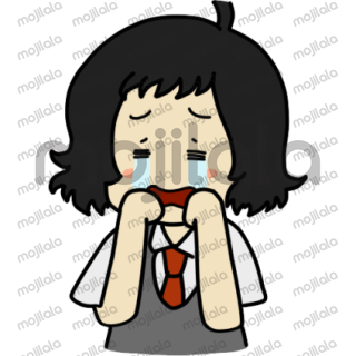 A chibi version of Kana from Lkuroma's story, expressing her adorable mood and cute expressions.