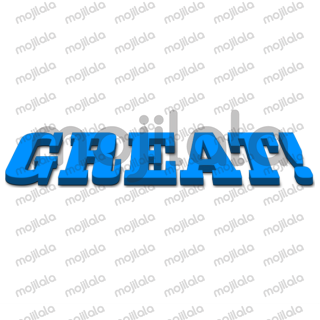 3D Text is a text based sticker pack.