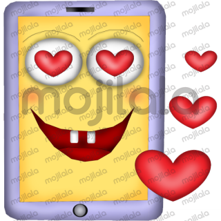 Sweety the Smartphone can be widely used. He laughs, cries, loves... and is simply enchanting!