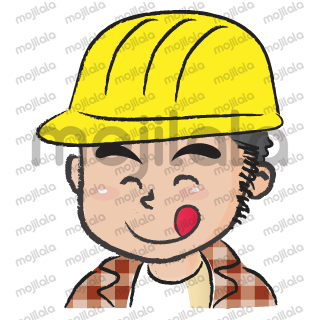 Little construction worker is so kind.