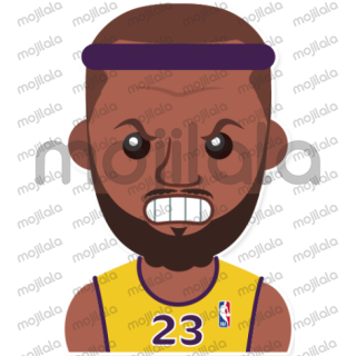 Lebron James emoji stickers