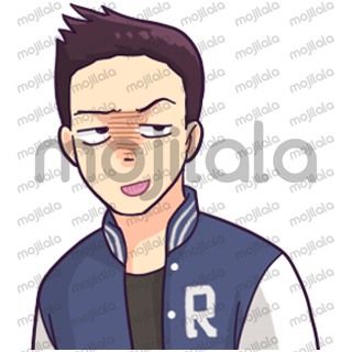 This sticker pack is created by Shortie and powered by Mojilala