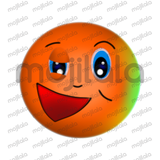 Share cute emotions with Orbie, Simple and fun :D. set of 40 stickers