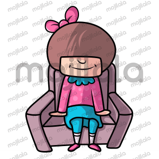 Meet Miss Mischief - The Cute Girl! Use her in your chat conversations to make them super cute and adorable.