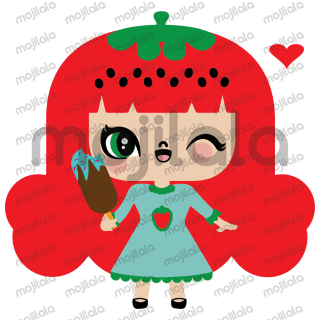 Strawberry Style is a sweet girl strawberry flavor, catch you with her cuteness and fill your heart with joy, I invite you to meet her!